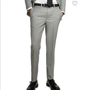 TOPMAN Marl Skinny Fit Dress/Suit Pants